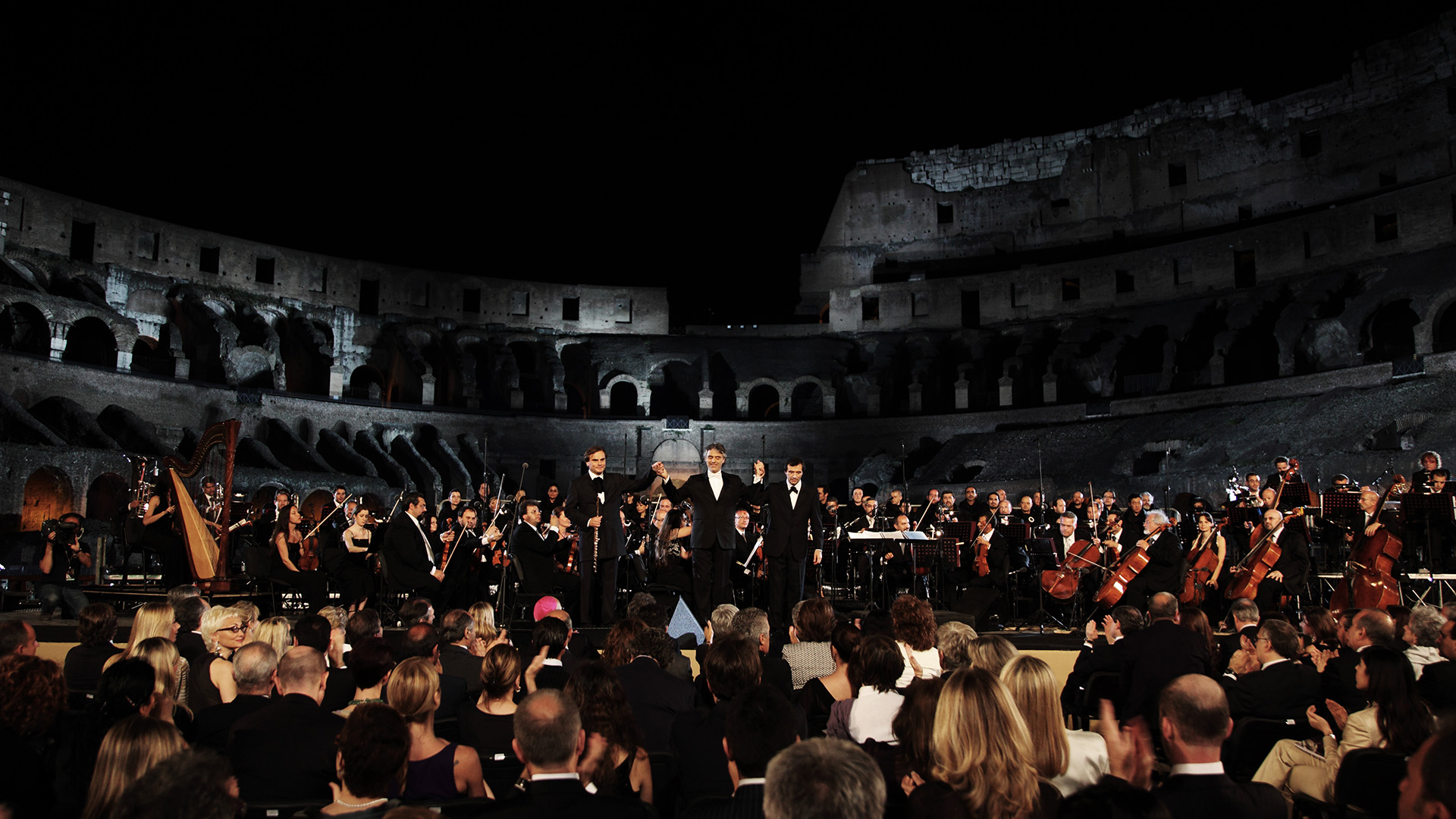 Concert At The Colosseo, Roma