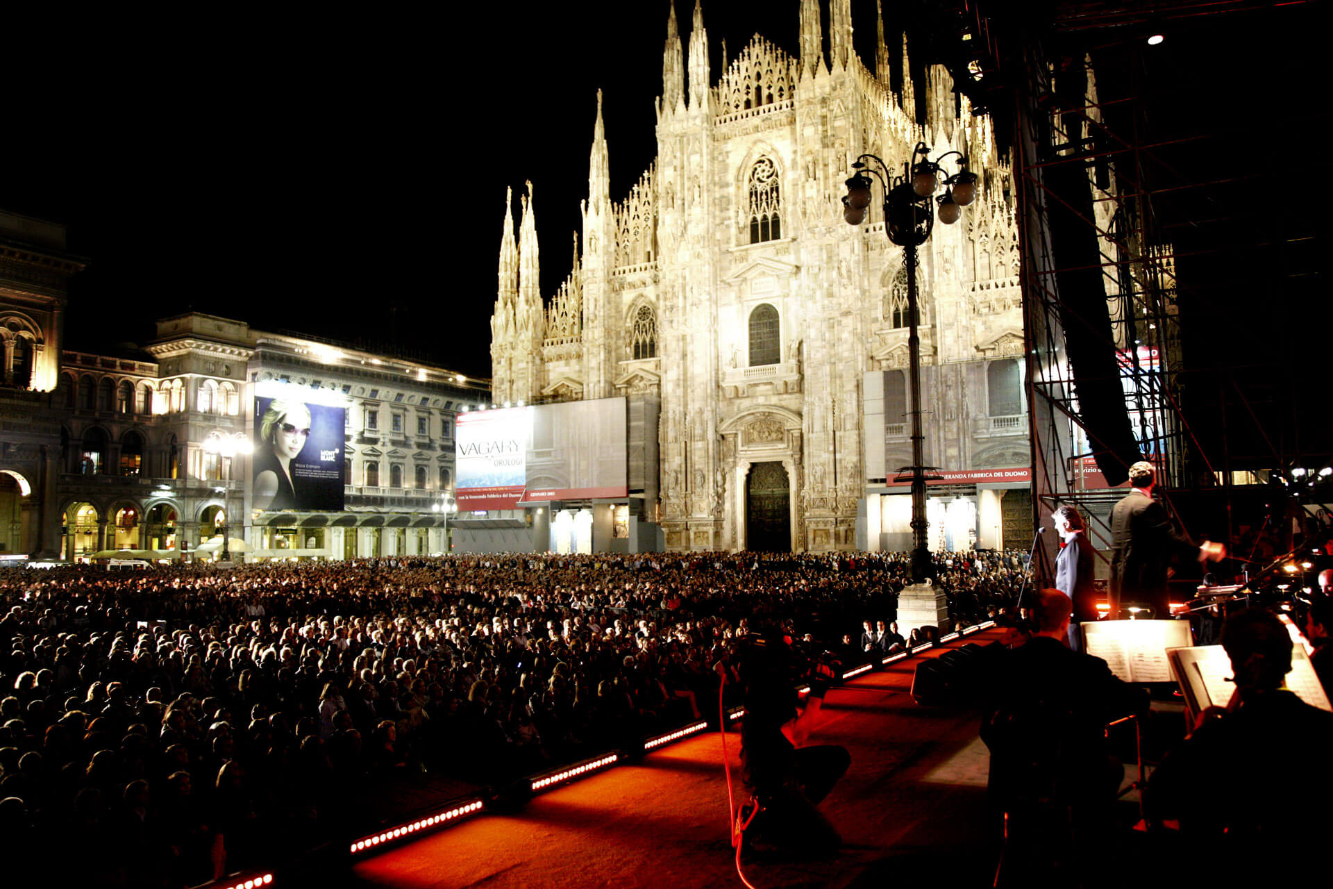 Anniversary Of The Italian Republic, Piazza Duomo, Milan