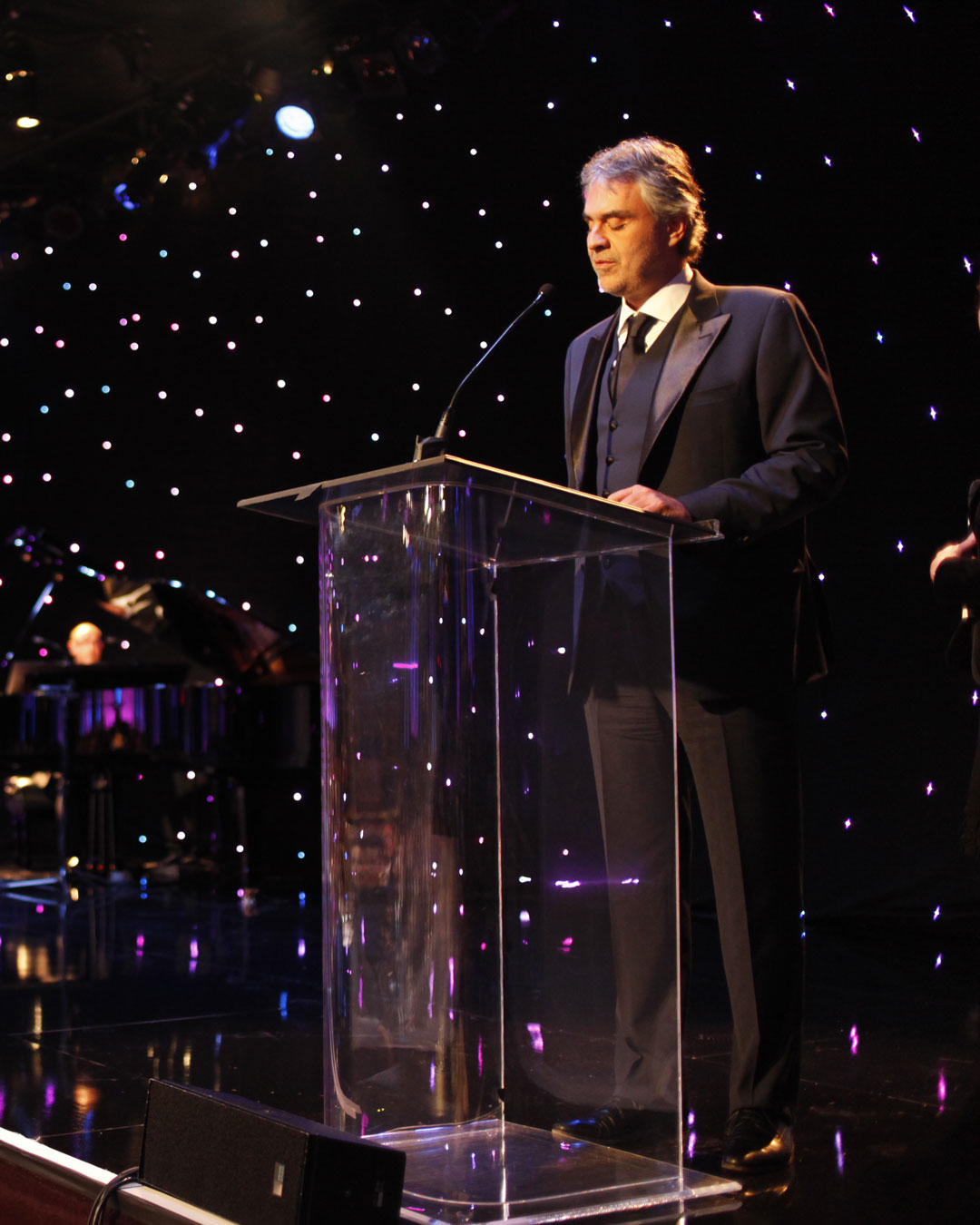The Andrea Bocelli Foundation is born