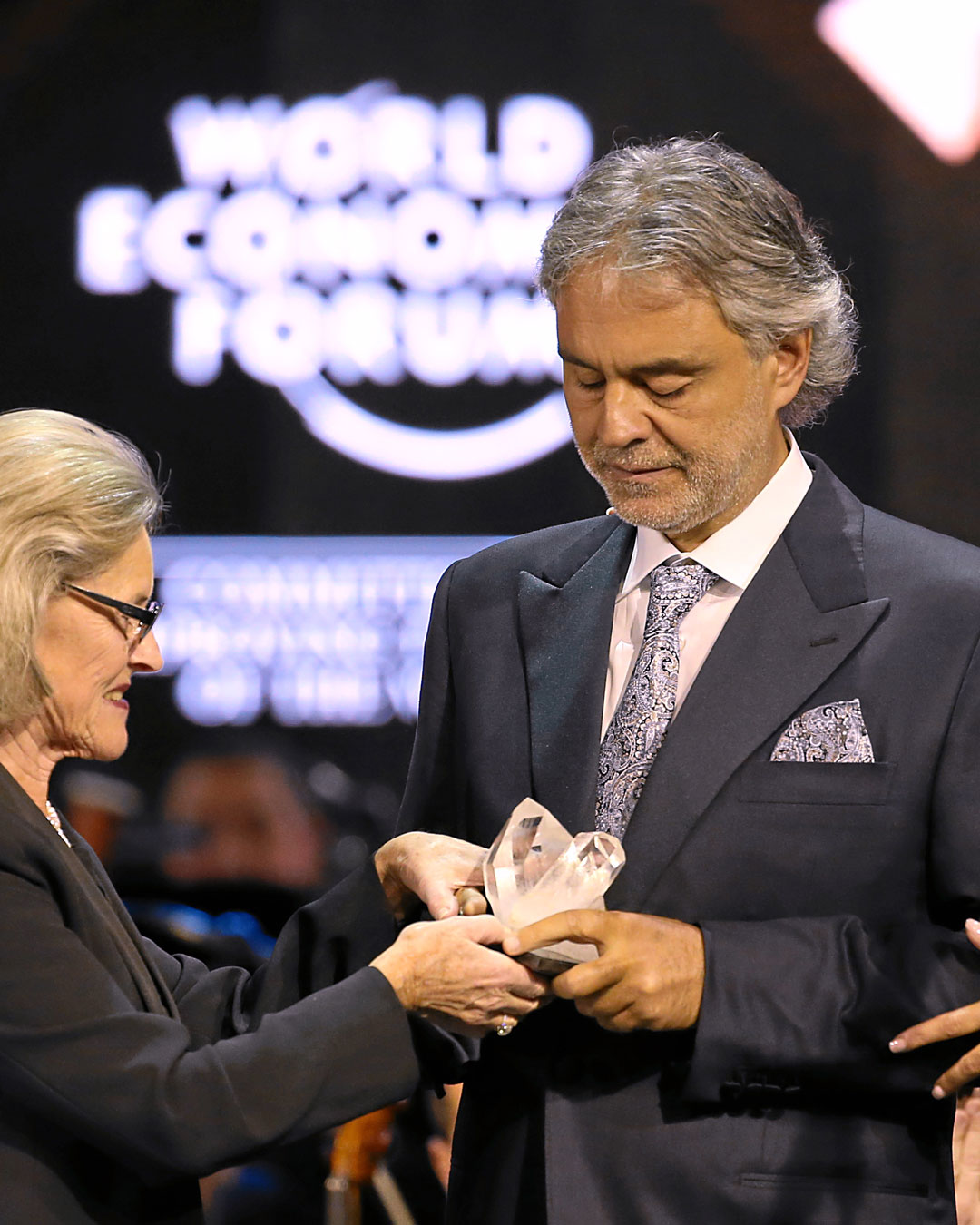 """Crystal Award"" at the World Economic Forum"