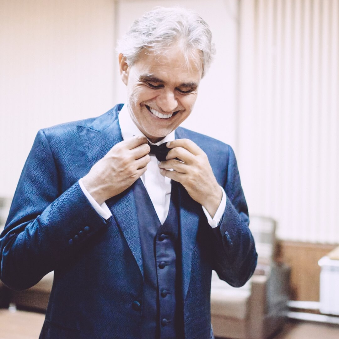 Throughout his career, Andrea Bocelli has received
