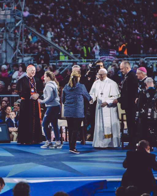 In Dublin with Pope Francis