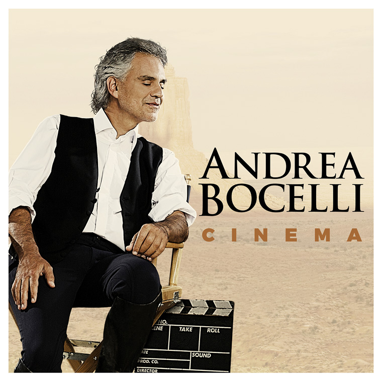 "Bocelli's  ""Cinema"" nominated for Best Traditional Pop Album at the Grammy awards"