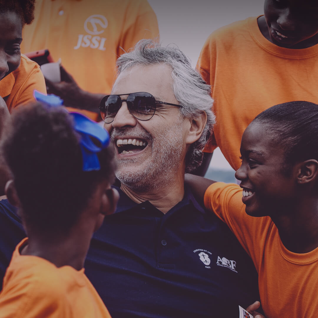 Andrea Bocelli <br>Foundation